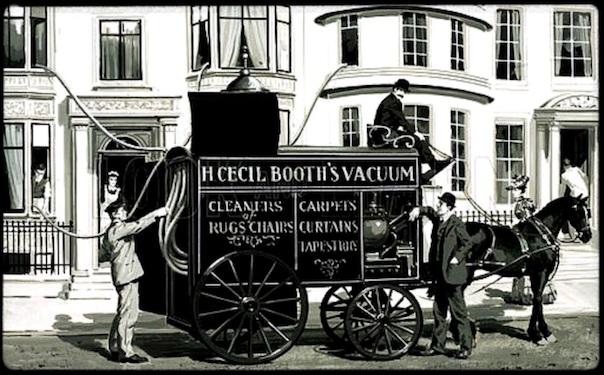 L'évolution de l'aspirateur de 1901 à nos jours