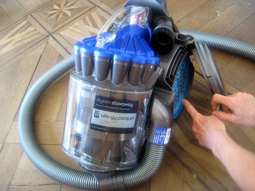 problèmes aspirateur Dyson