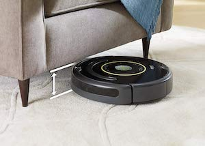 avis sur l'aspirateur iRobot Roomba 650